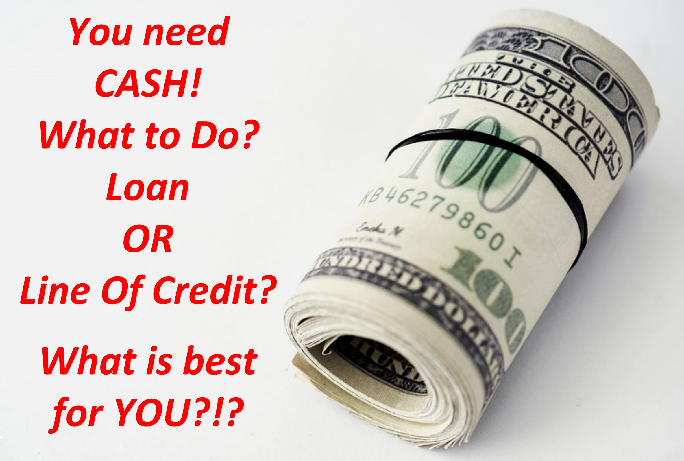 Factoring, Equipment Loans, Bridge or Term Loans, Lines of Credit and Many Other Types of Financing 7