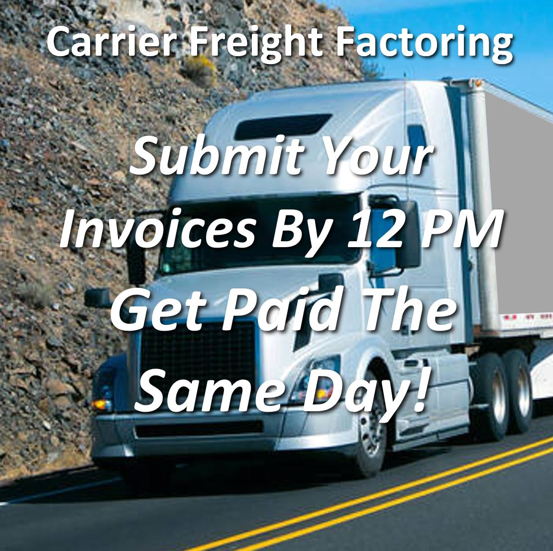 InstaPay Trucker Factoring Get Paid The ame Day